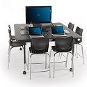 Click here for more Planner Multimedia Table by Smith System by Worthington
