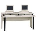 Click here for more Bi-Level LabMate Computer Tables by Achieva by Worthington