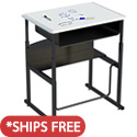 AlphaBetter Stand-Up Desk w/ Dry Erase Top by Safco