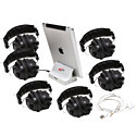 iPad Jackbox with 6 Headphones by Califone