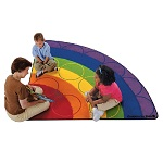 Rainbow Rows by Carpets for Kids