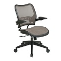 Click here for more Deluxe Latte AirGrid Chair by Office Star by Worthington
