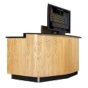 Click here for more VersaCurve Instructor Desk by Diversified Woodcrafts by Worthington