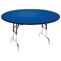 Round Adjustable Height Folding Tables by Allied