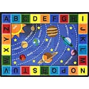 Click here for more Space Alphabet Carpet by Joy Carpets by Worthington