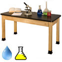 Standard Hardwood Classroom Science Tables by Allied