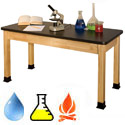 Superior Epoxy Resin Top School Chemistry Science Tables by Allied