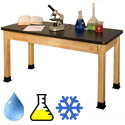 Phenolic Resin Top Chemistry Science Tables by Allied