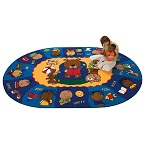 Sign, Say & Play Rug by Carpets for Kids
