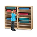 Click here for more Mat Storage - 16 Shelves by Jonti-Craft by Worthington