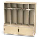 TrueModern 5-Section Coat Locker by Jonti-Craft