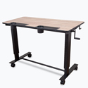 Click here for more 2-Student Standing Desk with Crank Handle by Luxor by Worthington