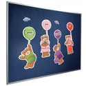 Click here for more Velcro-Compatible Fab-Tak Bulletin Board by Best-Rite by Worthington