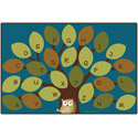 Click here for more Nature's Colors Owl-phabet Tree Rug by Carpets for Kids by Worthington