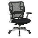 Click here for more Deluxe R2 SpaceGrid Back Chair w/ Mesh Seat by Office Star by Worthington