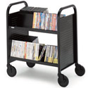 Double-Sided UPS-able Booktrucks by Bretford