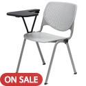 Click here for more Kool Series Plastic Stack Chair with Tablet by KFI by Worthington