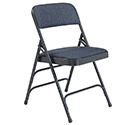 Fabric Folding Chair Triple Braced 2300 by National Public Seating