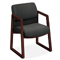 Click here for more Sled Base Guest Chairs by Hon by Worthington