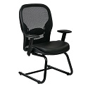Click here for more Mesh Back Guest Chair w/ Eco Leather Seat by Office Star by Worthington