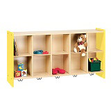 Click here for more 2000 Series Cubbie Wall Storage Unit by Tot-Mate by Worthington