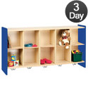 Click here for more Tot- Mate 2000 Series Cubbie Wall Storage Unit- Quick Ship by Worthington