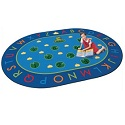 Hip Hop to the Top Carpet by Carpets for Kids