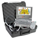 Portable Califone Mini-DVD Player with 2 Headphones