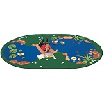 The Pond Carpet by Carpets for Kids