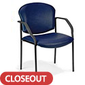 Click here for more Guest Seminar Stacking Chairs by OFM by Worthington