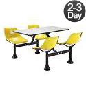 Click here for more Cluster Seating w/ Stainless Steel Top by OFM by Worthington