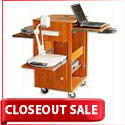 Swiss Presentation Cart by WoodWare