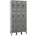 Click here for more Premium Triple-Tier 3-Wide Lockers by Hallowell by Worthington