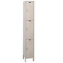 ValueMax Triple Tier Metal Lockers by Hallowell