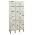 Click here for more Rust Resistant Galvanite Six-Tier 3-Wide Lockers by Hallowell by Worthington