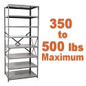 Medium-Duty Open Shelving w/ 8 Shelves by Hallowell