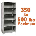 Medium-Duty Closed Shelving w/ 6 Shelves by Hallowell