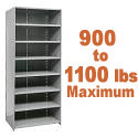 Extra Heavy-Duty Closed Shelving w/ 8 Shelves by Hallowell