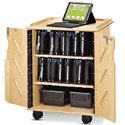 Laptop and Tablet Storage Cart by Jonti-Craft