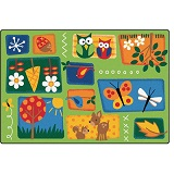 Nature's Toddler Rug by Carpets for Kids