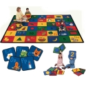 Blocks of Fun Rug by Carpets for Kids