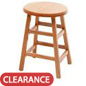 Click here for more Solid Oak Stool by Georgia Chair by Worthington