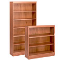 Click here for more Solid Oak Bookcase with Adjustable Shelves by Georgia Chair by Worthington