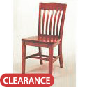 Click here for more Vertical Slat Back Library Chair by Georgia Chair by Worthington