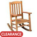 Click here for more Oak Rocking Chair by Georgia Chair by Worthington