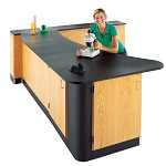 Click here for more Peninsula Workstations by Diversified Woodcrafts by Worthington