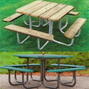 Click here for more Square Traditional Picnic Tables by UltraPlay by Worthington