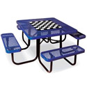 Game Top Square Outdoor Picnic Tables by UltraPlay