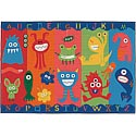 Click here for more Alphabet Monsters Value Rug by Carpets for Kids by Worthington