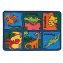 Dino-Mite Value Rug by Carpets for Kids